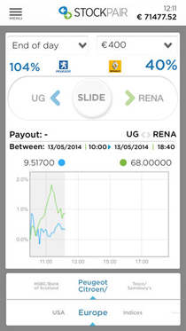 StockPair App Screenshot 2